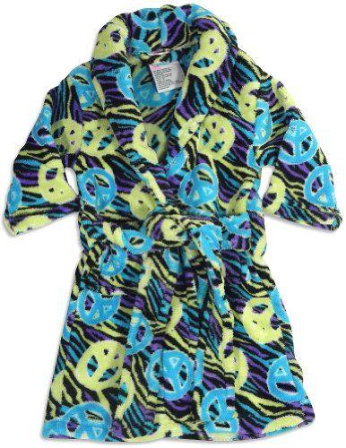 Sweet n Sassy - Little Girls Zebra Peace Robe, Turquoise, Lime, Black 27385-4T SWEET N SASSY http://www.amazon.com/dp/B005LW74A6/ref=cm_sw_r_pi_dp_bm8-vb0ZRVBFY