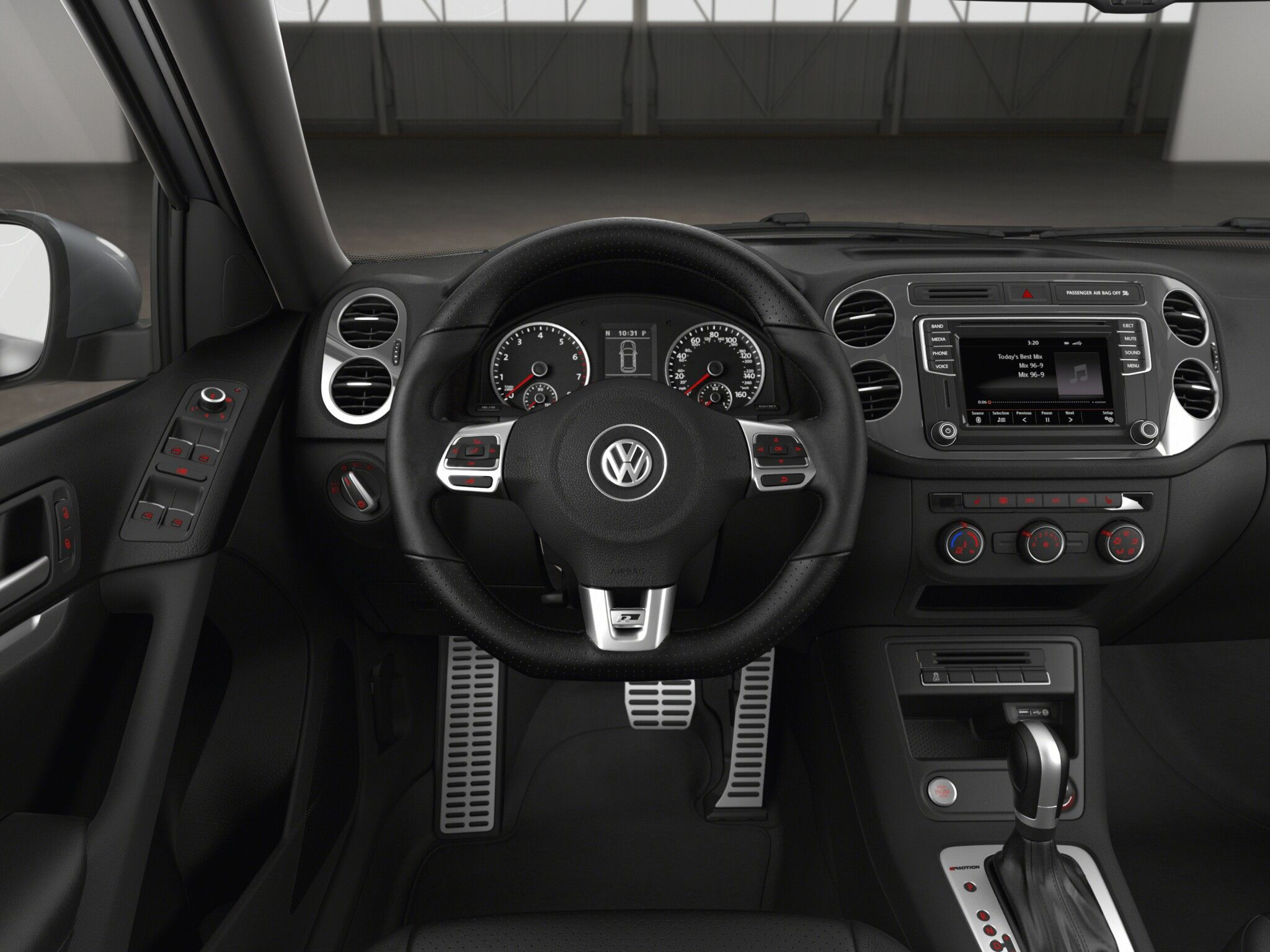 2016 Vw Tiguan R Line Upgrade Larger Infotainment Screen