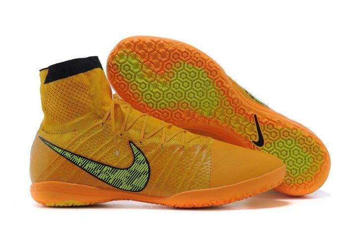 New Nike Black Elastico Superfly Ic High Mago Yellow