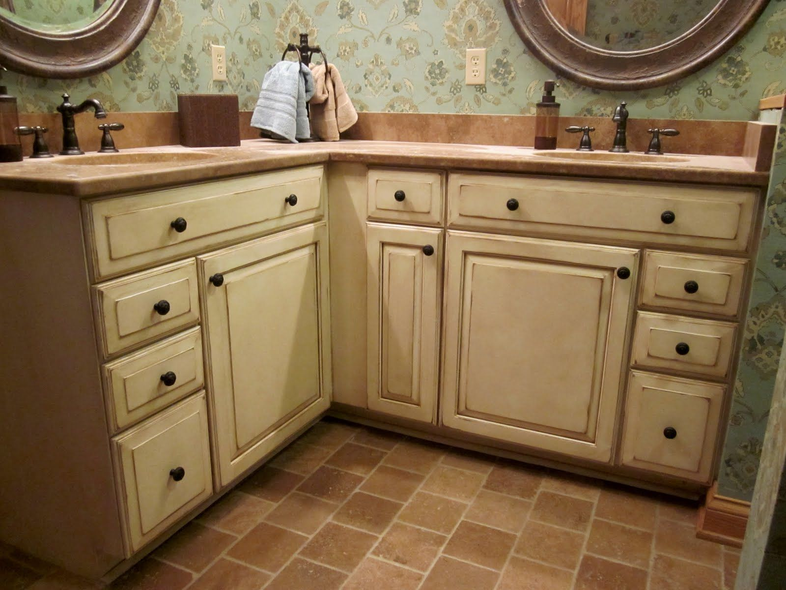 Kraftmaid Bathroom Vanities Glazed Cabinets Jpg
