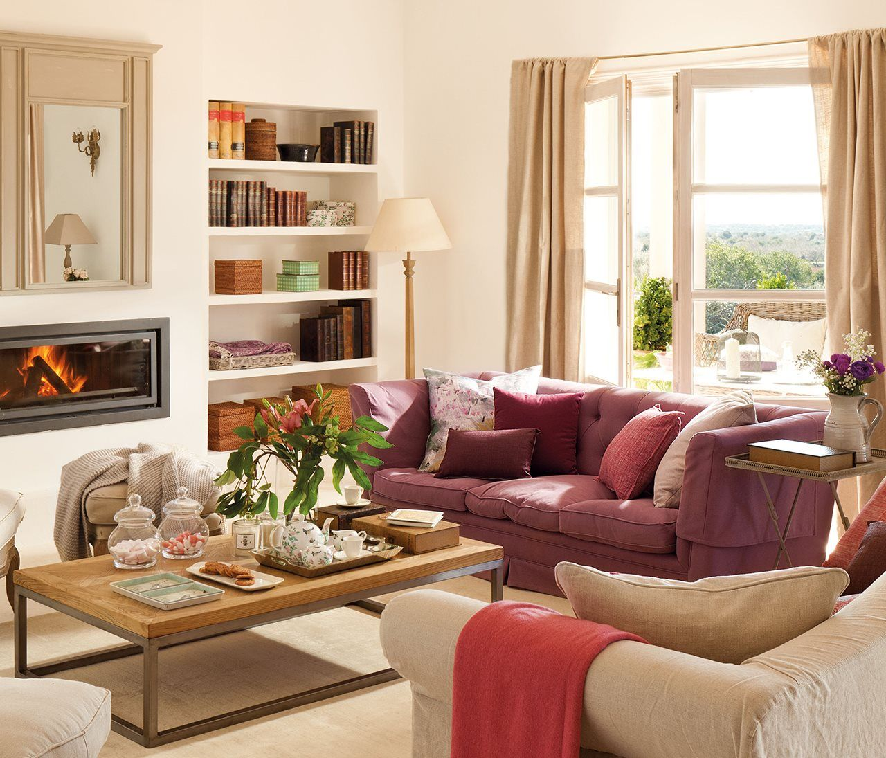 C mo elegir un sof para toda la vida - Como elegir cortinas ...