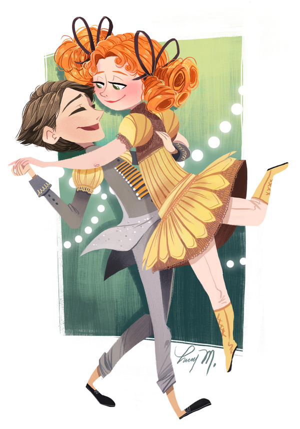 Lissy Marlin: Small Eggs and Winnie sketch from the @TheBoxtrolls for @Sketch_Dailies