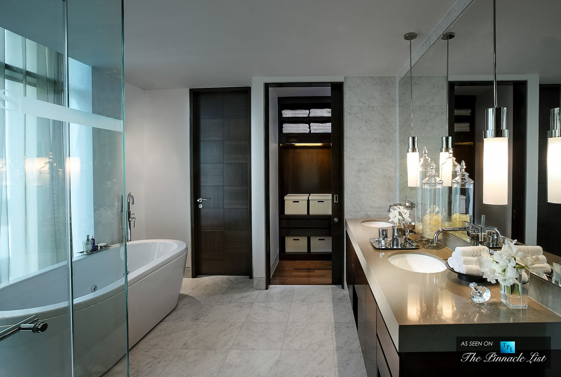 5 star bathroom designs - St Regis Luxury Hotel Bangkok Thailand Residence Bathroom