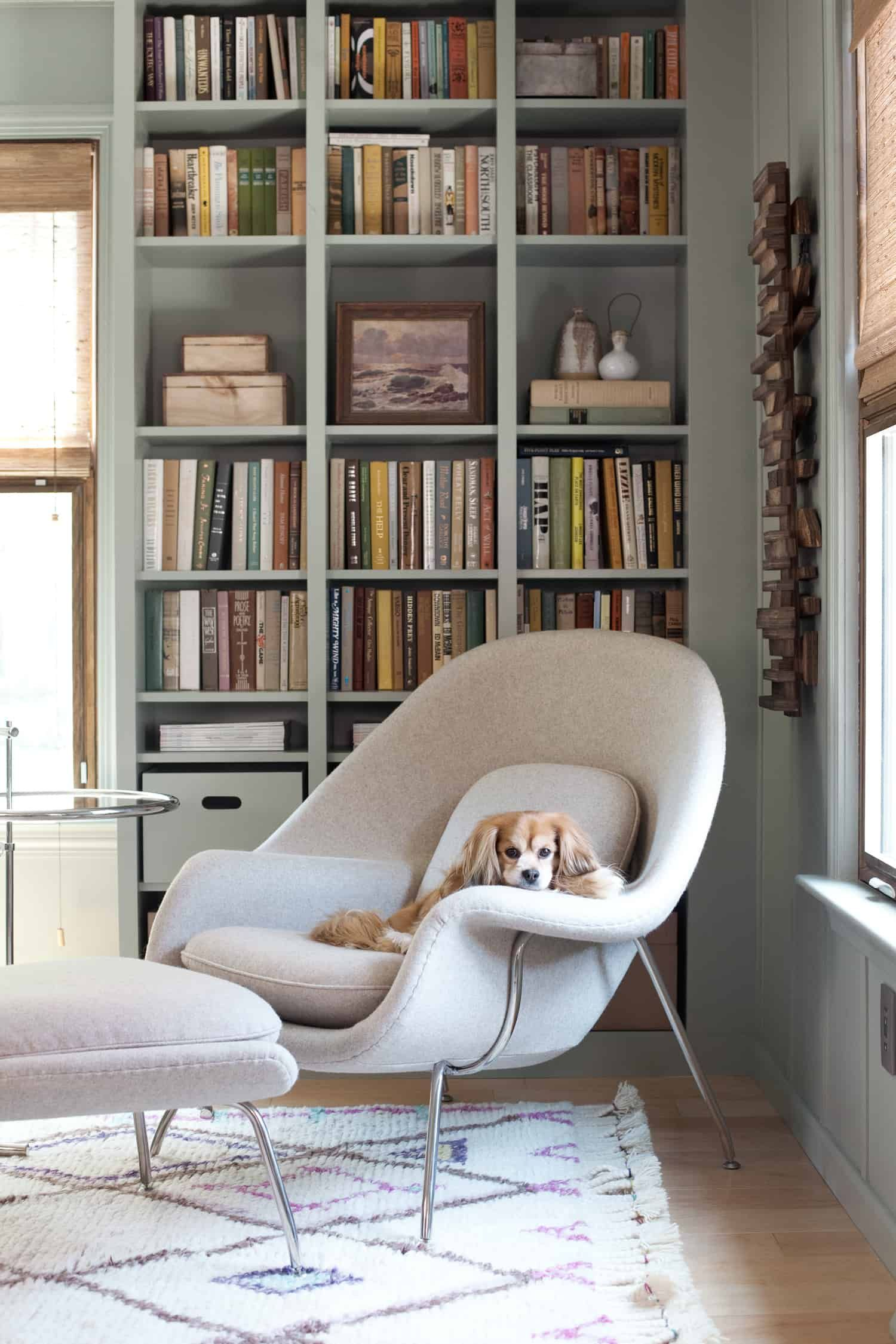 Ikea Home Office Library Ideas: Built-In IKEA Billy Bookcase Hack