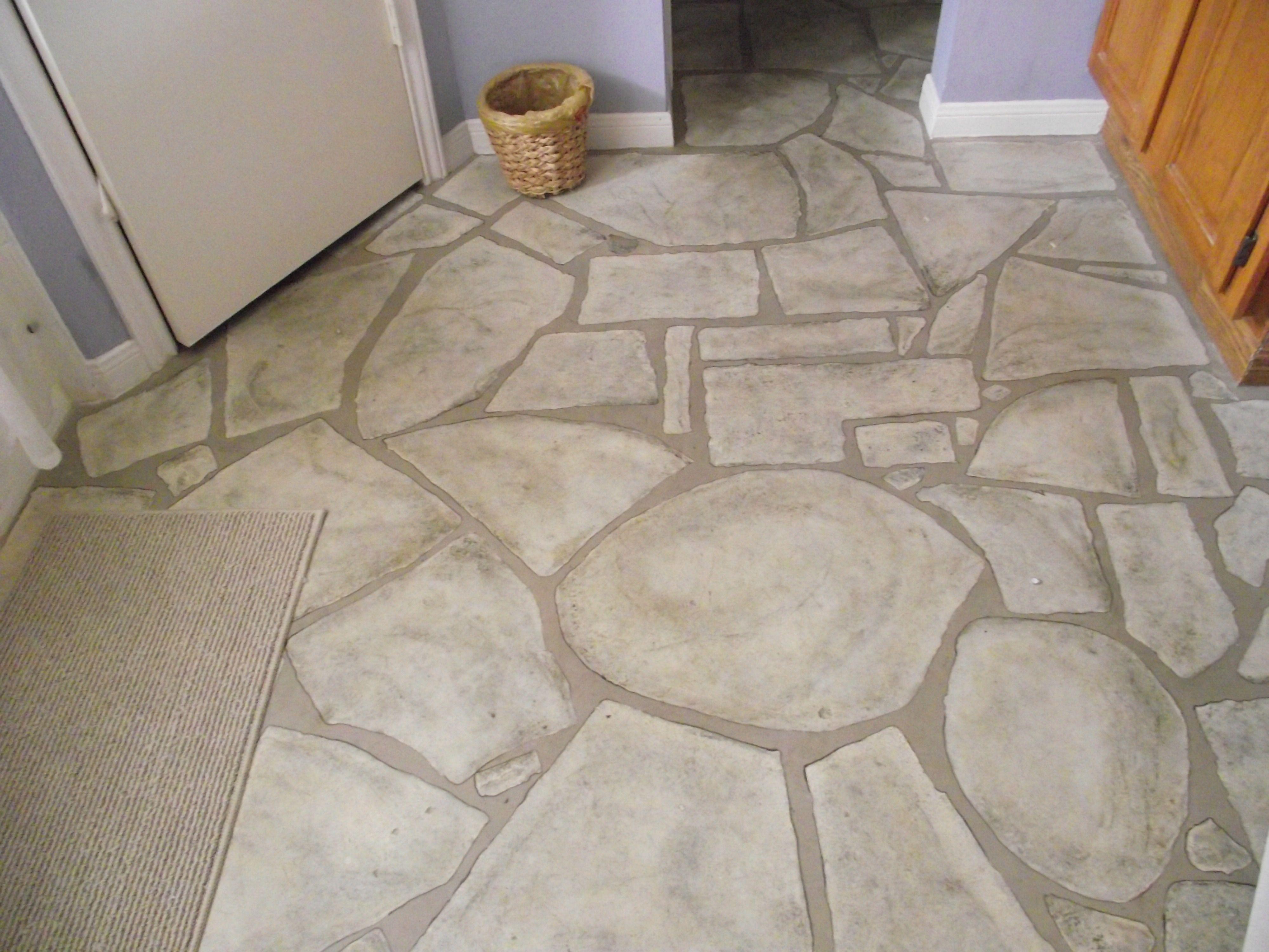 Faux Stone Floor Flooring Beautiful Flooring Patio Flooring