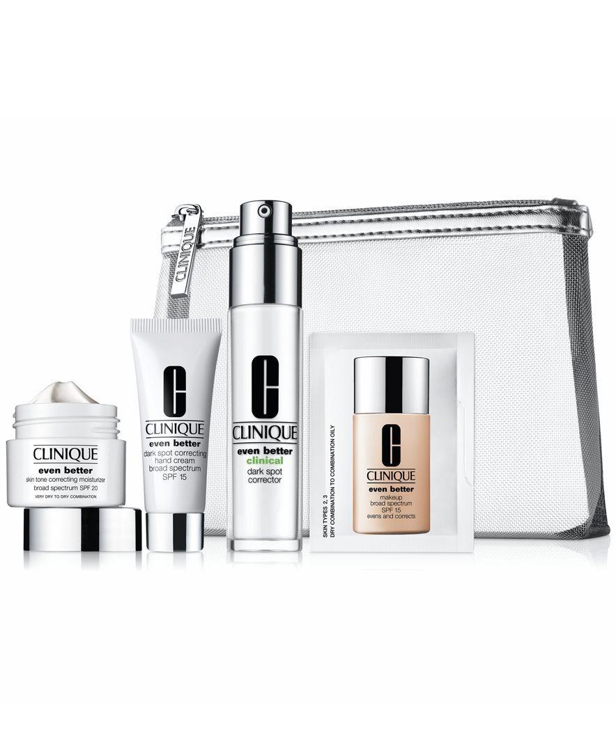 Clinique Uneven Skin Tone Solutions Kit  Products  Pinterest
