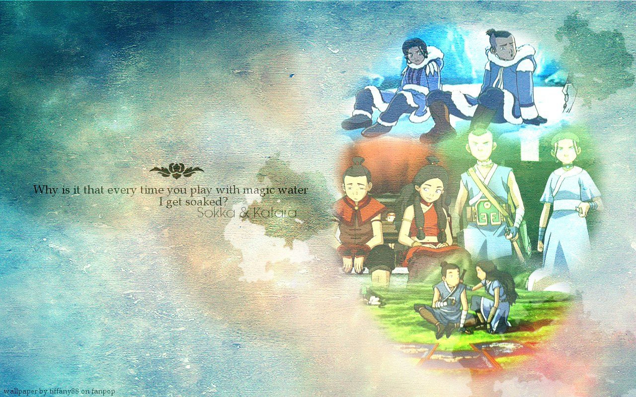 Wallpaper By Me HD And Background Photos Of Sokka Katara For Fans Avatar The Last Airbender Images