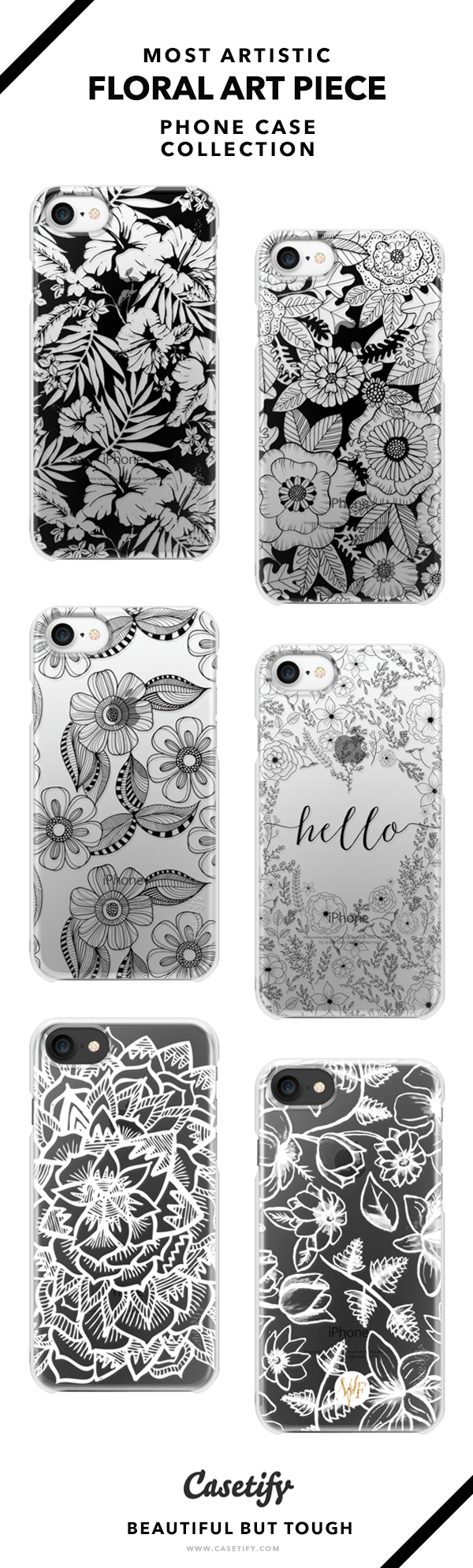 Most Artistic Floral Tattoo Phone Case Collection Iphone 6 6s 7