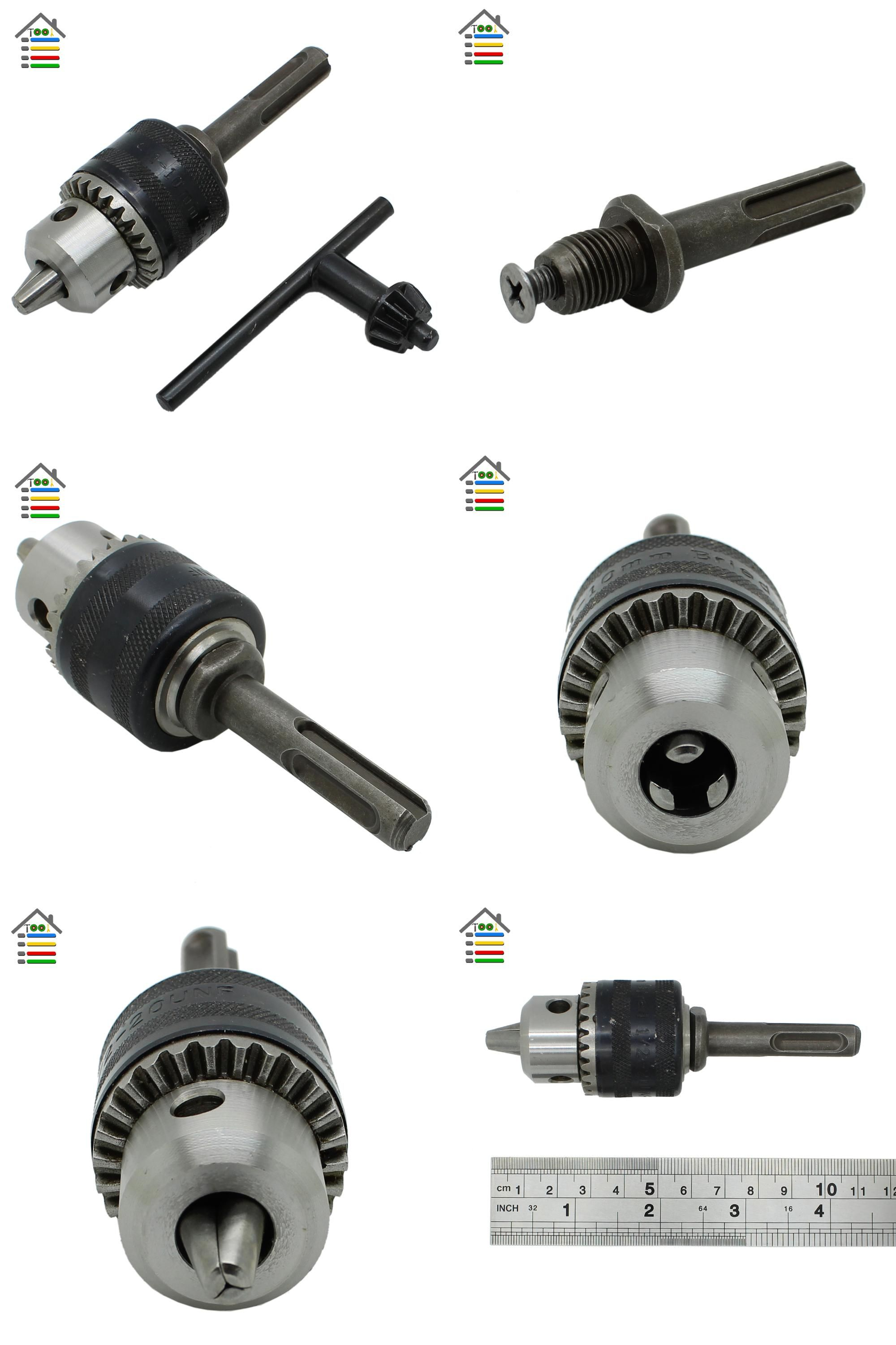 Visit To Buy New Replacement Keyless Drill Chuck 1 5 10mm 1 2 20unf Thread With Key And Sds Plus Adapter For Elect Electric Hammer Drill Chucks Hammer Drill