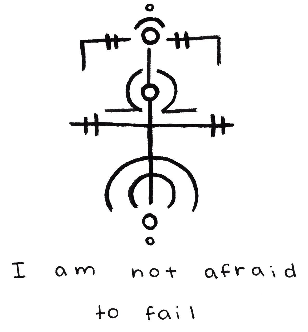 """""""I am not afraid to fail"""" sigil for @vamporchid Sigil requests are currently closed -Mod Pyre"""