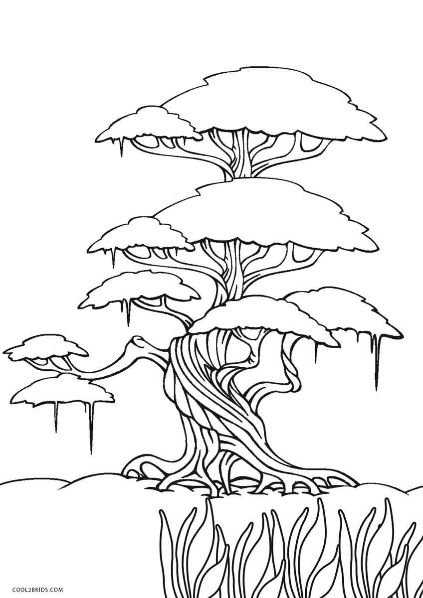 Free Printable Tree Coloring Pages For Kids  Cool27bKids  Tree