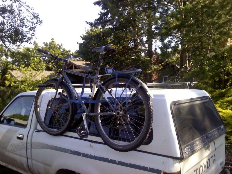 info on side mounting bike racks for