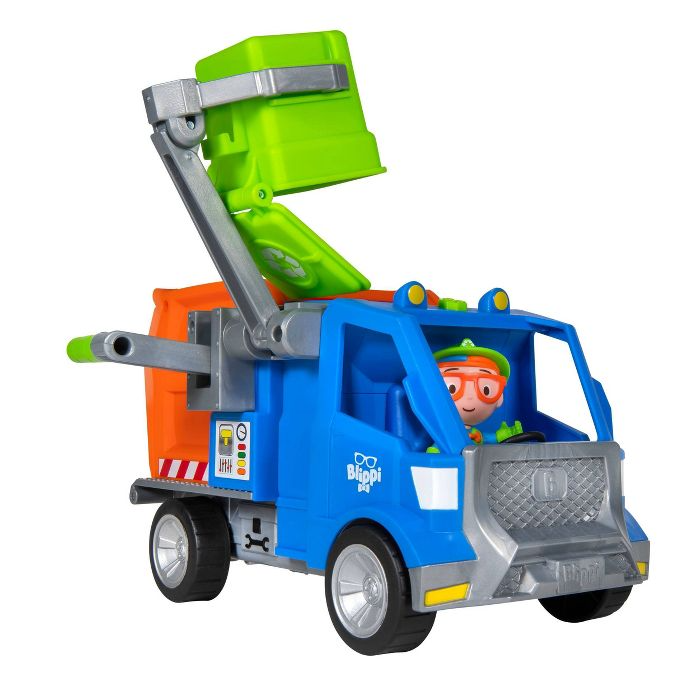 48++ Blippi garbage truck coloring page HD