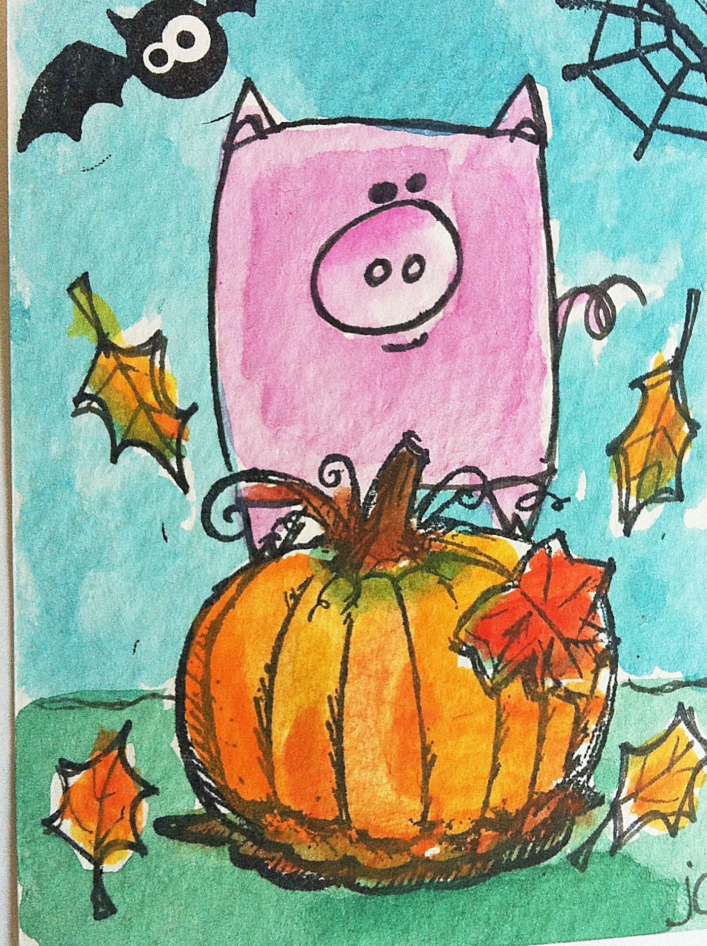 49++ 1st grade halloween art projects ideas