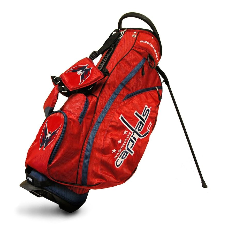 07cc8f89ad9 Team Golf Washington Capitals Fairway Stand Bag, Multicolor ...