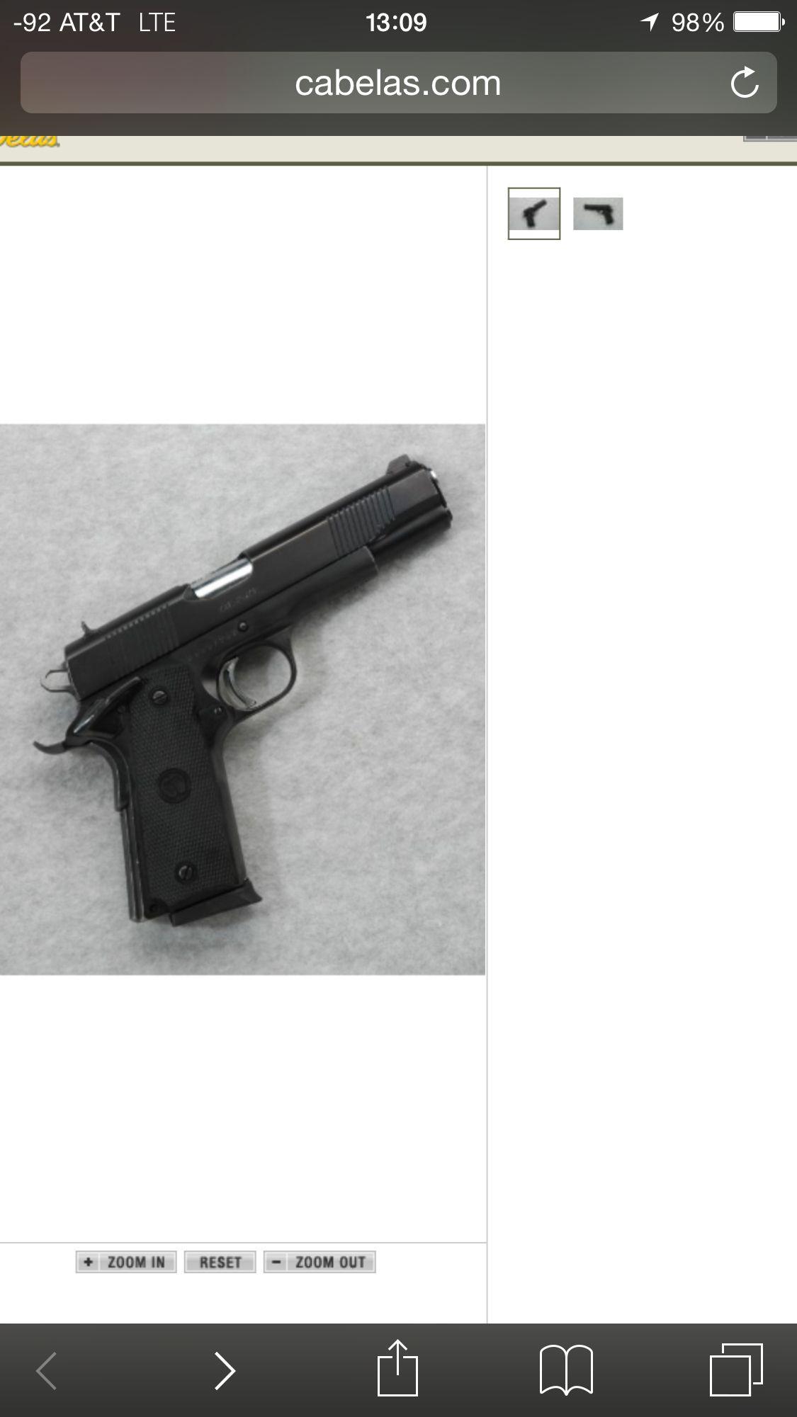 Charles Daly 191145 acp Hand guns, Guns, 45 acp