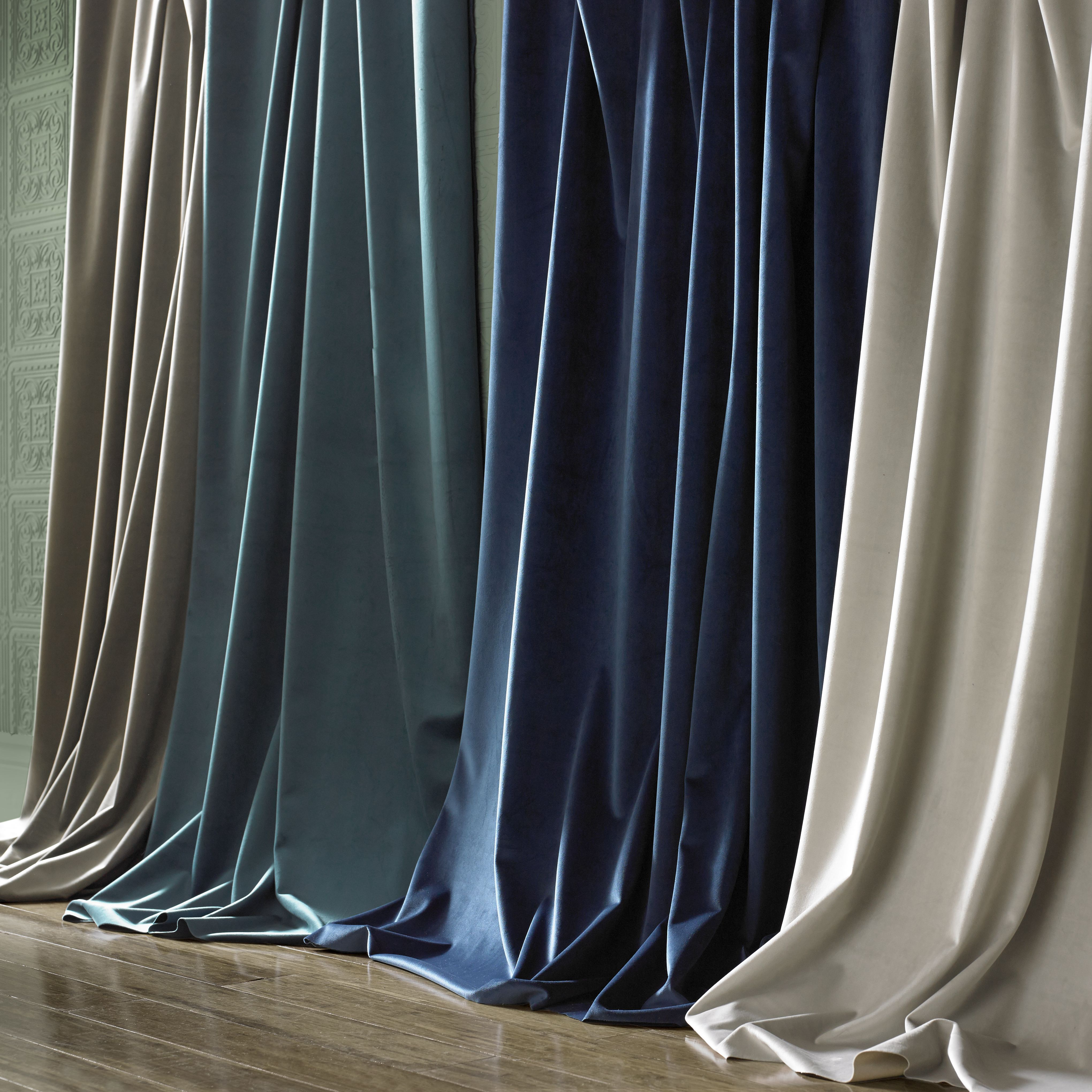 #CurtainDesign #Curtains #CurtainIdeas #Blues #Blinds #Aqua #Blue #Calm #Fresh #DomusLumina