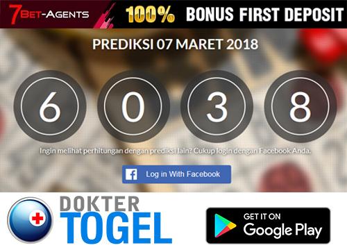 Prediksi Togel SGP 7 Maret 2018 Powered by Dokter Togel