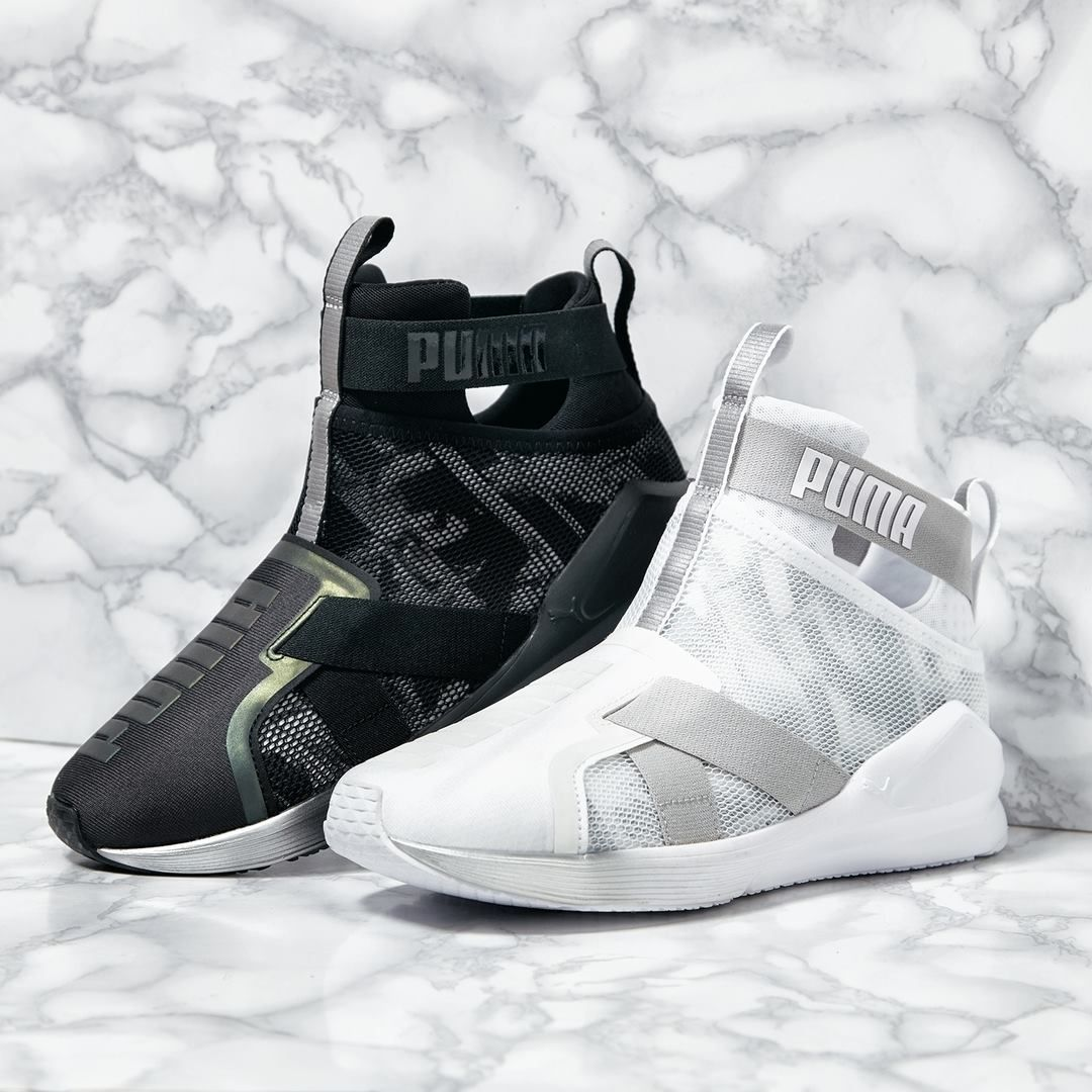 PUMA FIERCE SWAN in 2020 Joggesko, Kicks sko  Sneaker dress shoes, Kicks shoes