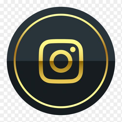 Instagram Logo Premium Of Golden Png Instagram Logo New Instagram Logo Facebook And Instagram Logo