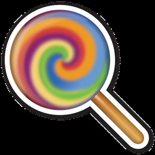 Lollipop Emoji Stickers Tumblr Stickers Disney Sticker