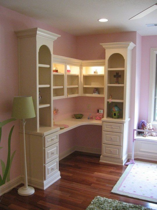 Best Custom Made Bookcase Desk Built In Make At Home In 2019 400 x 300