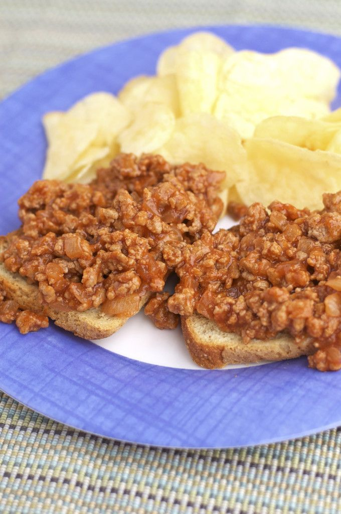 Reminds me of sloppy joes but SO MUCH more flavor! Bar B Que Hamburger Gluten Free /LetsBeYummy.com