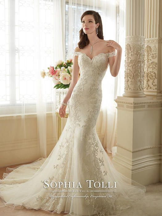 Loraina - Sophia Tolli | Wedding Gowns | Pinterest