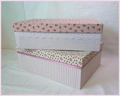 mutterhenne karton mit stoff beziehen bastelanleitung kisten versch nern basteln karton. Black Bedroom Furniture Sets. Home Design Ideas