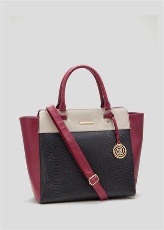 3d55705ea502 Colour Block Tote Bag