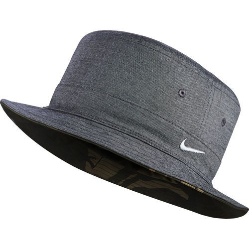 Nike Golf Ox Reversible Bucket Hat - Black Wolf Grey  22e7aa8258a