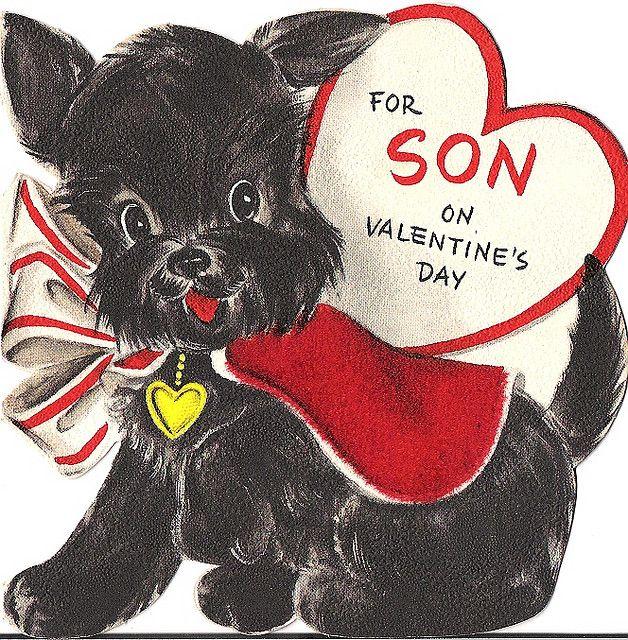 Valentine son card