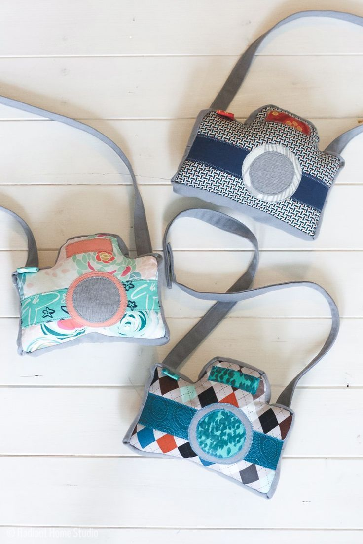 Little Photographer Camera Pattern: Gifts for Preschoolers ...