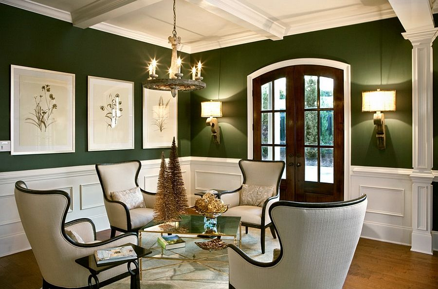 Delicieux 25 Green Living Rooms And Ideas To Match