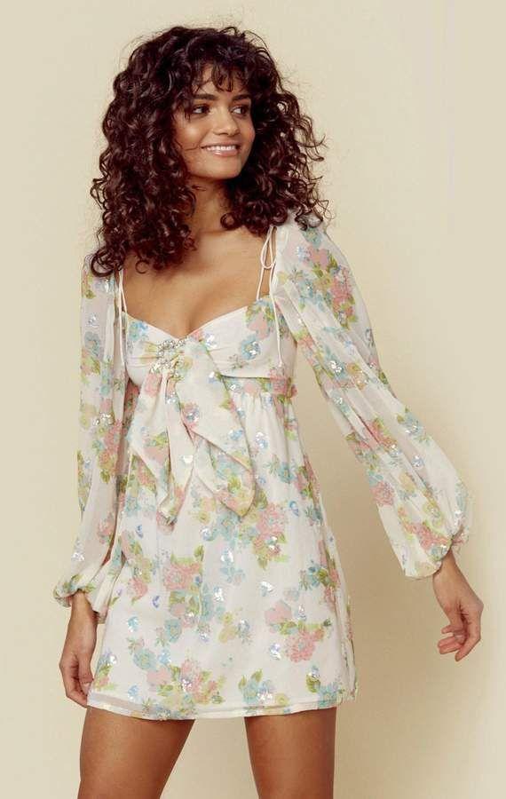 298ce59d For Love & Lemons GEORGINA SWING DRESS in 2019   Products   Dresses ...