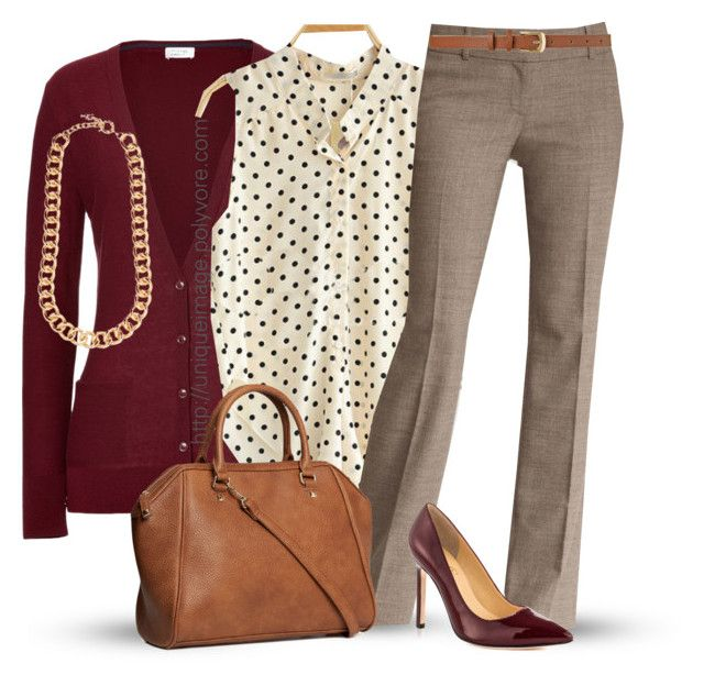 A fashion look from November 2013 featuring Closed cardigans, Ann Taylor  pants and Ivanka Trump pumps. Browse and shop related looks.