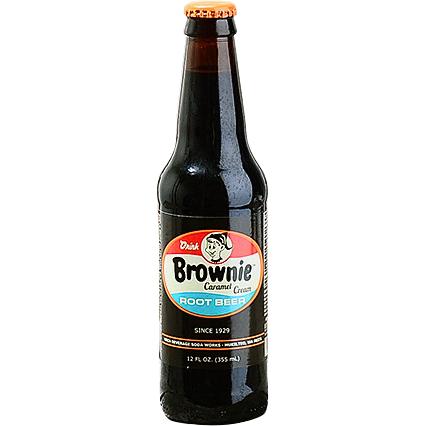 Brownie Caramel Root Beer Beer Root Beer Beer Bottle
