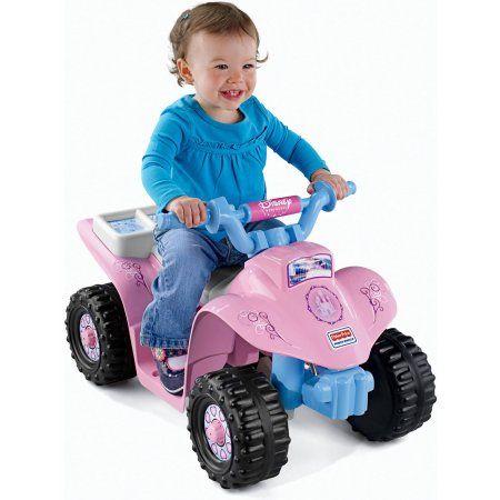 Power Wheels Disney Princess Lil Quad 6 Volt Battery Powered Ride