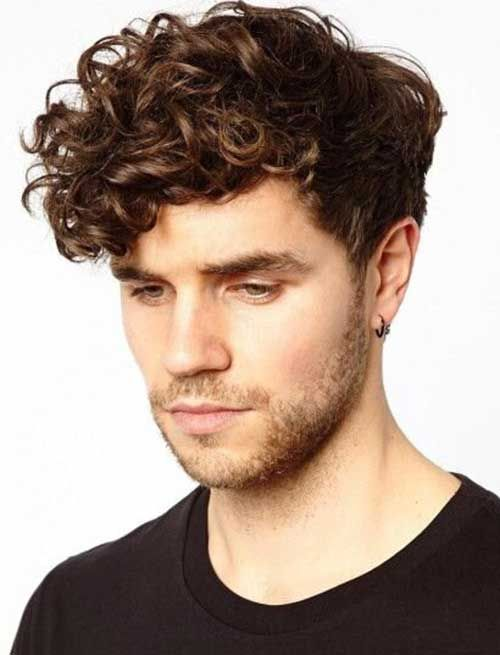 30 Trendy Curly Hairstyles For Men (2021 Collection) - Hairmanz | Men haircut curly hair, Curly ...