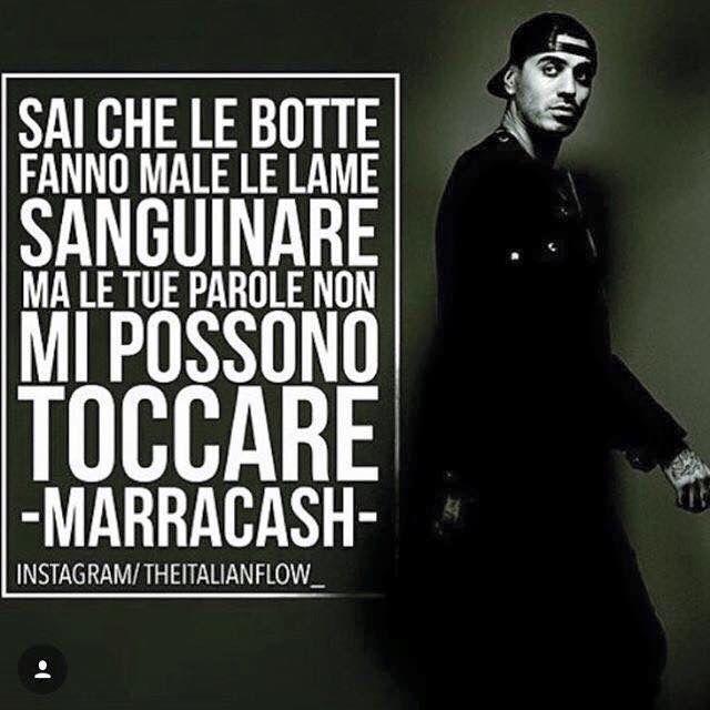 Frasi Famose Di Marracash.Marracash Rap Parole Instagram
