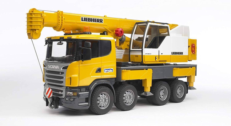 Scania Camión Liebherr con grúa 89.99</p>                 <!--bof Quantity Discounts table -->                                 <!--eof Quantity Discounts table -->                                 <!--bof Product URL -->                                 <!--eof Product URL -->             </div>             <div id=
