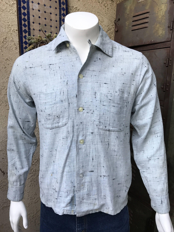 Sea Island Vintage Cotton Shirt A Shirt Makers Shirt Wash Without
