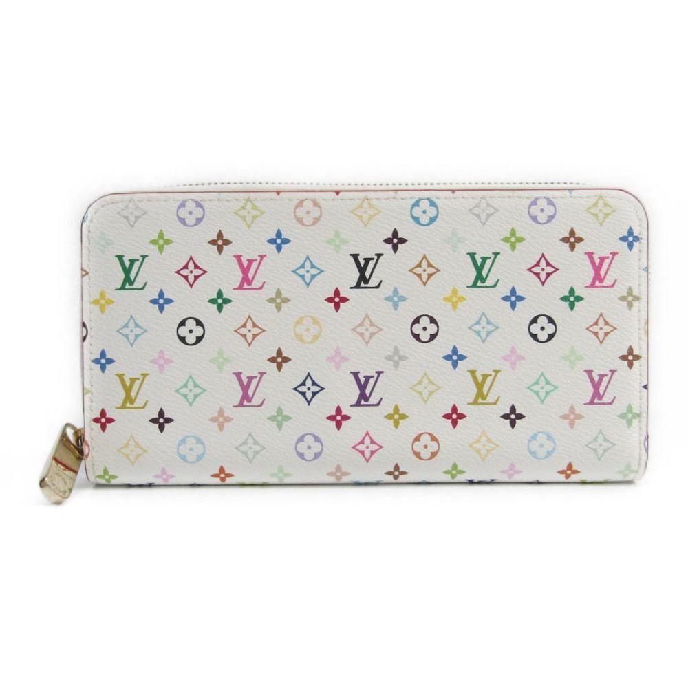 0a97b1653ea1 Louis  vuitton Monogram Multicolore Zippy Wallet M61875 Women s Monogram  Multicolore Long Wallet (bi-fold) Blanc
