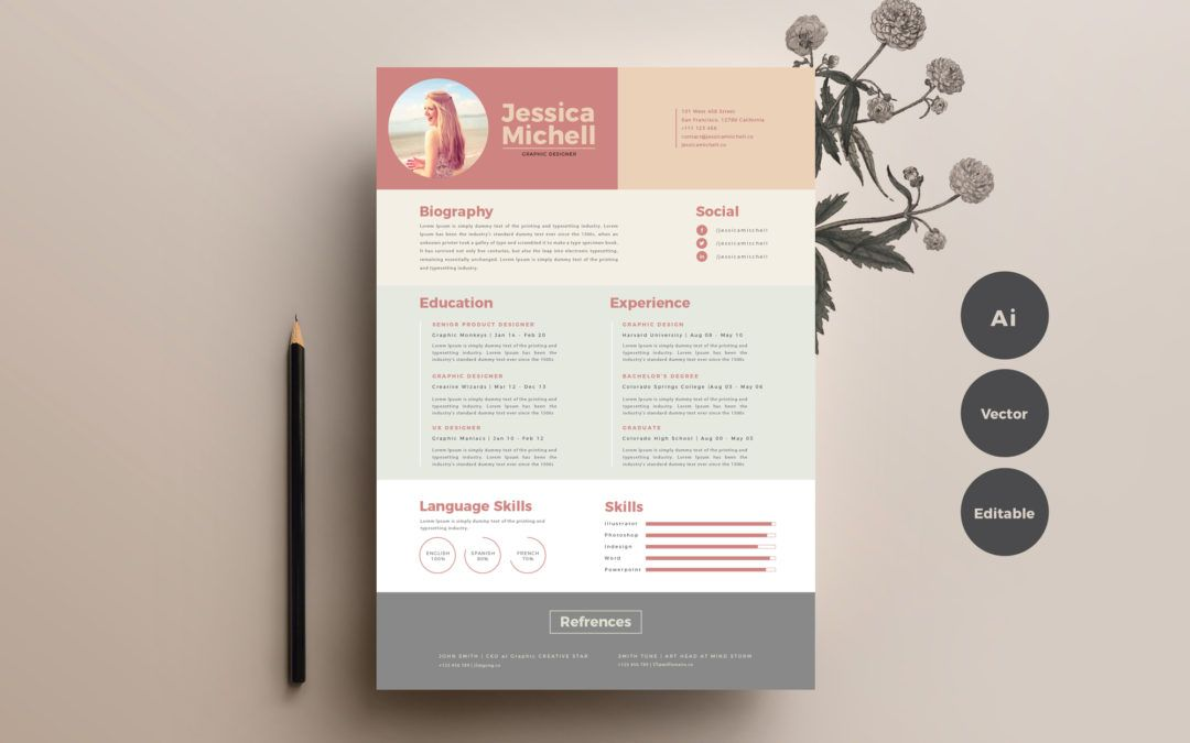 simple  u0026 elegant free resume templates