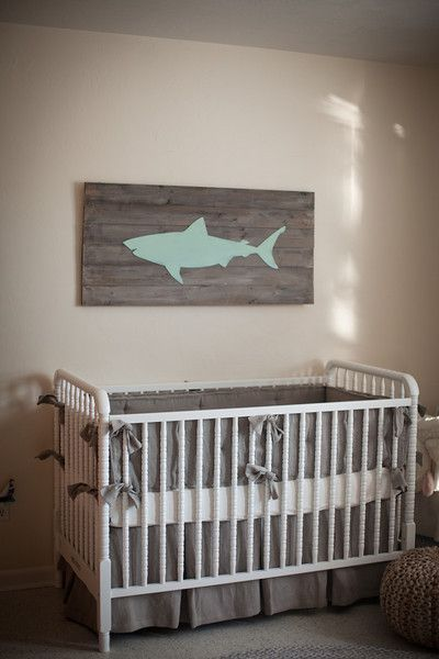 Coastal Theme Nursery Design Reveal
