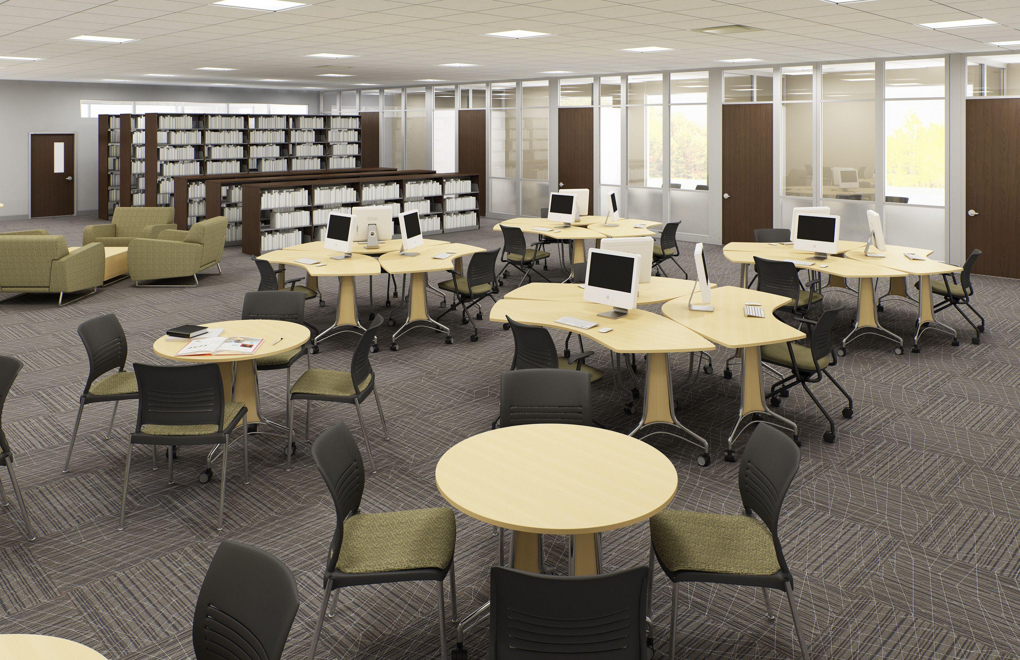 Kay Twelve.com Use Single Desks And Group Desks To Create A Diverse Seating