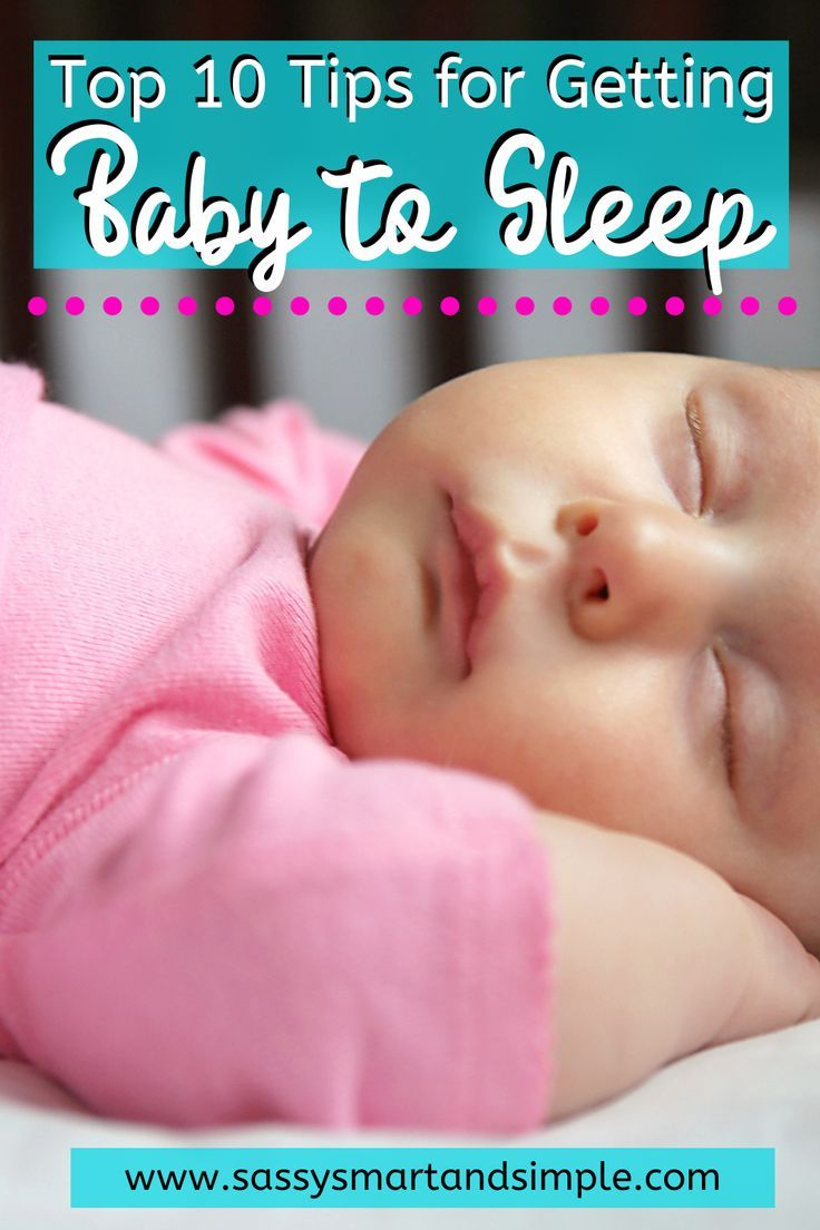 how to get an overtired baby to sleep at night