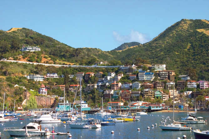The 10 Most Beautiful Towns And Villages In California Catalina Island Catalina Places To Go