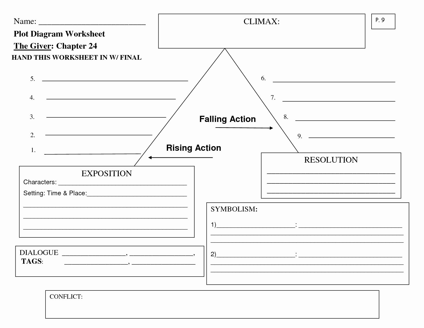 Blank Plot Diagram Luxury 15 Best Of Story Climax Worksheet Suspense Outline Graph How To Cite A Book Chapter Apa 7th Edition