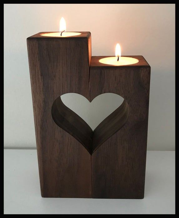 Photo of Heart Candle Holder